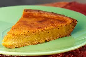 impossible vegan pumpkin pie