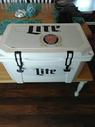 grizzly promotional miller lite cooler with cutting board top for in springfield mo offerup