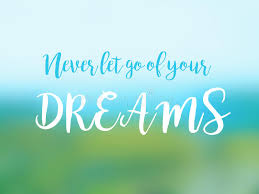 Never Let Go Of Your Dreams Quotes Best Of Never Let Go Of Your Dreams Inspirational Quote Card Stock Photo