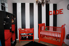 Our Son's RED BLACK & WHITE nursery! I love it!! (pics!) - JustMommies  Message Boards