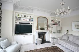 Living Room Alcove Bespoke Alcove Units With Tv
