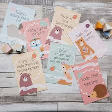 Preemie Baby Milestones Chart Cumbrian Designer Launches New Milestone Cards For Premature
