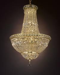 cjd ck cg 2174 22 french empire crystal chandelier