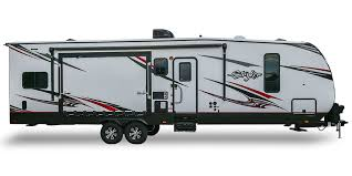 the stryker toy hauler line is all about family fun at 102 wide the stryker is designed to carry your favorite utv even up to the larger 4 seat models