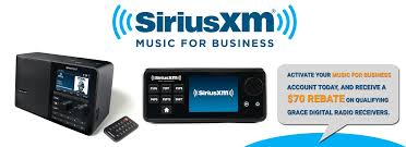 siriusxm for business grace digital internet radios