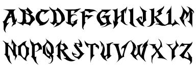 black letter font horst blackletter demo font