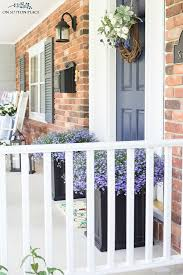 small front porch ideas for summer