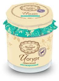 <b>Йогурт Молочный стиль нежирный</b> 0.1%, купить с доставкой на ...