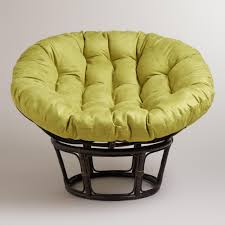 papasan furniture. Oasis Green Micro Suede Papasan Chair Cushion Furniture