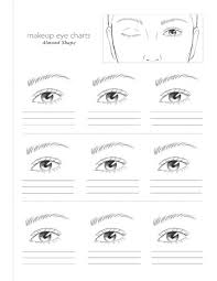 eye shape chart book info makeup eye charts colorista books