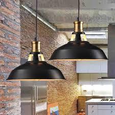 loft industrial pendant lights vintage