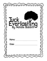 comic strip summaries for tuck everlasting engchat bced shot musings from the middle school tuck everlasting novel study in a lapbook