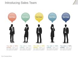 Introducing Sales Team Powerpoint Slide Presentation Sample