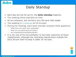 Scrum Meeting Template Agile Sprint Report Template