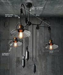 pull down pendant light fixture with rise and fall pendant lights pull down lighting for over