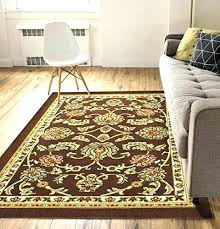 rubber back area rugs non skid slip antibacterial 5 x 7 rug latex backed by under