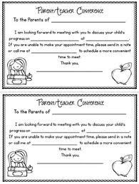 Parent Teacher Conference Forms Editable By Bright Concepts 4 Teachers