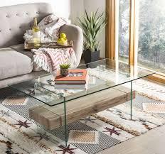 safavieh kayley retro 2 tier glass