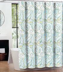 com tahari fabric shower curtain teal green gray hayden paisley by tahari home home kitchen
