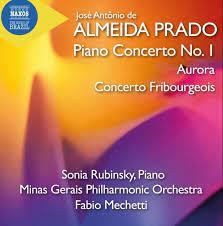 Naxos - ALMEIDA PRADO - Piano Concertos (Music of Brazil, Vol 4) | Facebook