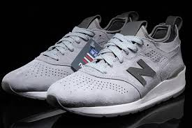 new balance deconstructed. the 997 deconstructed debuts in brand\u0027s classic grey suede look, and is arriving now for $180 at select new balance suppliers like premier.