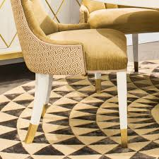 high end upholstered furniture. High End Modern Italian Upholstered Gold Dining Chair Furniture O