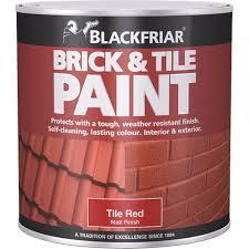 Red Tile Paint For Kitchens Blackfriar Brick Tile Paint Matt Red 250ml Amazoncouk Diy