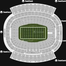 New Era Field Interactive Seating Chart Buffalo Bills Stadium Online Charts Collection
