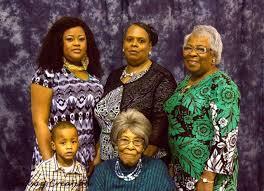 Mrs. Hattie Lue Williams Adams celebrates five generations