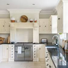 Traditional Kitchen With Mantel Over Range Cooker Kitchen Plan