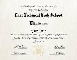 High School Deploma Fake High School Diploma 7 Diploma Outlet