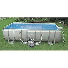 intex above ground pool rectangle. Intex 18\u0027 X 9\u0027 52\ Above Ground Pool Rectangle 7