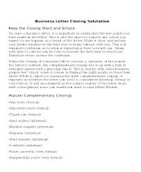 Closing In A Cover Letter Cover Letter Closings Mozo Carpentersdaughter Co
