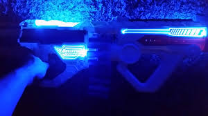 Light Blue Nerf Guns Adventure Force Light Command Review Blaster Hub