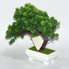 bonsai tree for office. Artificial Office Trees New Plastic Tree Plants Landscape Flower Bonsai Pot Culture For Home Living Room Potluck Ideas