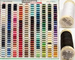 48 Factual Gutermann Sewing Thread Colour Chart