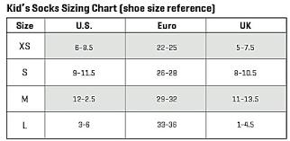 Smartwool Kids Socks Size Chart Smartwool Wintersport Polar Bear Socks Girls