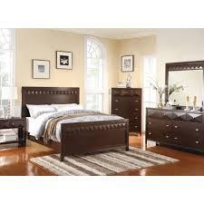 Mirror Bedroom Furniture Trilogy Bedroom Bed Dresser Mirror Cappuccino Full