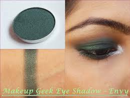 green dess makeup geek eye shadow envy
