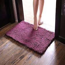 sangreazul pure color plush doormat indoor outdoor area rug durable small mat modern super soft easy