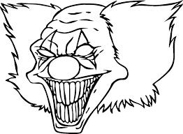 Printable Clown Face Template Printable Clown Fish Template