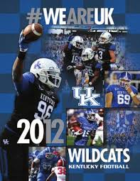 2012 University Of Kentucky Football Media Guide By