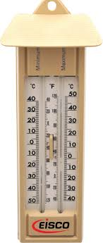 Mercury Instruments Chart Recorders Thermometers Maximum And Minimum Sixs Double Scale Mercury