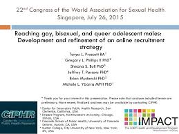 Recruitment Strategy Stunning Reaching Gay Bisexual And Queer Adolescent Males Development And R
