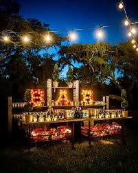 Backyard wedding lighting ideas Elegant Live On Beauty Home Lighting Lights Outdoor Lighting Ideas For Wedding Reception Decorating With Lights