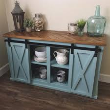 it s in the details chevron top sliding door console by for kitchen buffet table plan 1