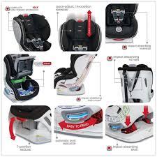 britax advocate tight convertible car seat venti