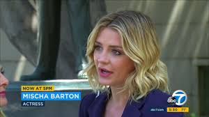 Mischa Barton reaches deal to block revenge porn by ex abc7