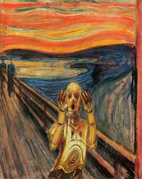 the scream in over six million forms of communication