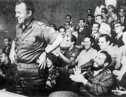 "the yankee c dante the new yorker william alexander morgan being applauded by fidel castro in havana in 1959 morgan said that he had joined the n revolution because ""the most important"